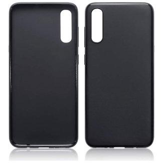 MSS Samsung Galaxy A70 Zwart TPU Back cover