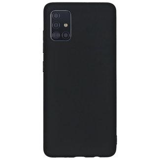 MSS Samsung Galaxy A71 Zwart TPU Back cover