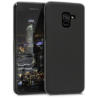 MSS Samsung Galaxy A8 Plus Black TPU Back cover