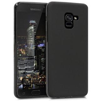 MSS Samsung Galaxy A8 Plus Schwarz TPU Rückseite