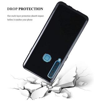 MSS Samsung Galaxy A9 (2018) Zwart TPU Back cover