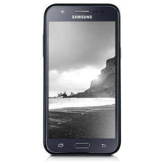 MSS Samsung Galaxy J5 (2015) Zwart TPU Back cover