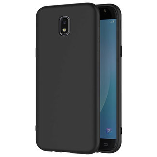MSS Samsung Galaxy J7 (2017) Black TPU Back cover