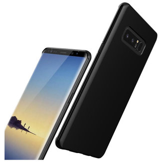 MSS Samsung Galaxy Note 8 Zwart TPU Back cover