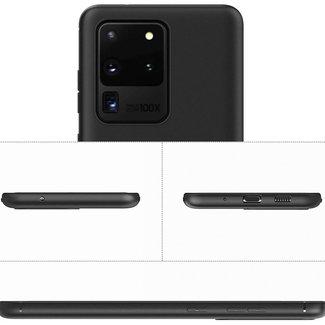 MSS Samsung Galaxy S20 Ultra Zwart TPU Back cover