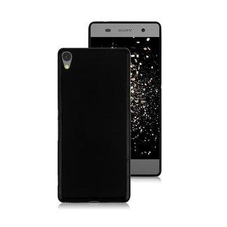 MSS Sony Xperia XA1 Schwarz TPU Rückseite