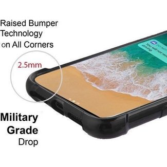 Apple iPhone 7/8 / SE [2020] Schwarzes TPU-Anti-Schock