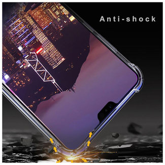 MSS Huawei P20 Transparent TPU Anti shock back cover case