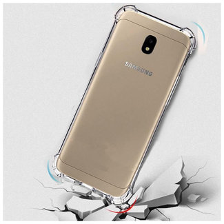 MSS Samsung Galaxy J7 2017 (J730) Transparent TPU Anti shock back cover case