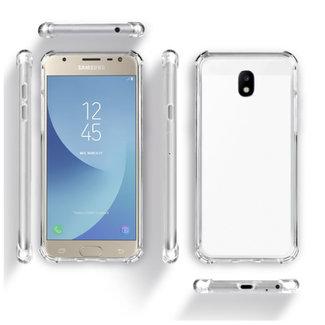 MSS Samsung Galaxy J3 2017 (J330) Transparent TPU Anti shock back cover case