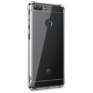 MSS Huawei P smart Transparant TPU Anti shock back cover hoesje