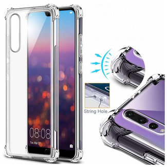 MSS Huawei P20 Pro Transparent TPU Anti shock back cover case