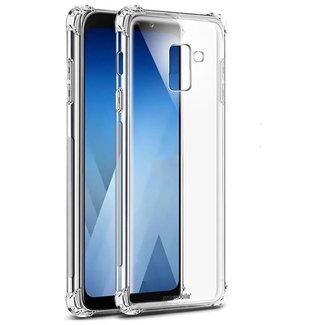 MSS Samsung Galaxy A6 Plus (2018) Transparent TPU Anti shock back cover case