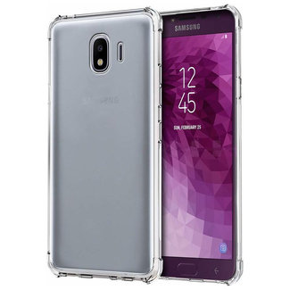 MSS Samsung Galaxy J4 2018 (J400) Transparant TPU Anti shock back cover hoesje