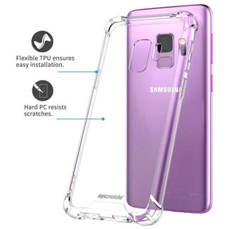 MSS Samsung Galaxy J6 2018 Transparente TPU Anti-Schock-Schutzhülle