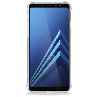 MSS Samsung Galaxy A8/A5 (2018) Transparant TPU Anti shock back cover hoesje