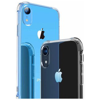 MSS Apple iPhone XR Transparant TPU Anti shock back cover hoesje