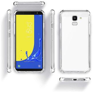 MSS Samsung Galaxy J4 Plus / J4 Prime Transparent TPU Anti shock back cover case