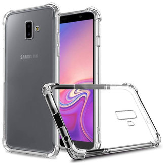 MSS Samsung Galaxy J6 Plus / J6 Prime Transparent TPU Anti shock back cover case