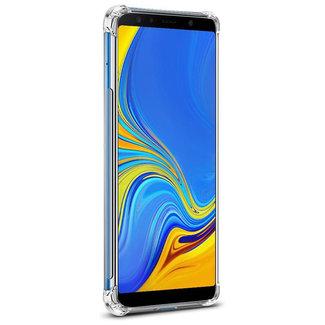 MSS Samsung Galaxy A7 2018 (A750) Transparant TPU Anti shock back cover hoesje