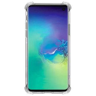 MSS Samsung Galaxy A91/S10 Lite (2020) Transparant TPU Anti shock back cover hoesje