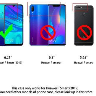 MSS Huawei P smart (2019) Transparent TPU Anti shock back cover case