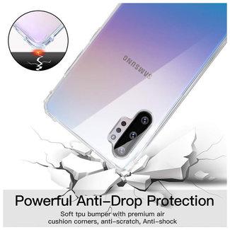 MSS Samsung Galaxy Note 10 Transparent TPU Anti shock back cover case