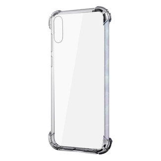 MSS Samsung Galaxy A10 / M10 Transparent TPU Anti shock back cover case