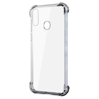MSS Samsung Galaxy A20s Transparant TPU Anti shock back cover hoesje