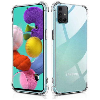 MSS Samsung Galaxy A71 Transparant TPU Anti shock back cover hoesje