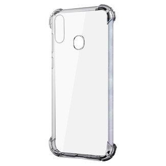 MSS Samsung Galaxy A20e Transparant TPU Anti shock back cover hoesje