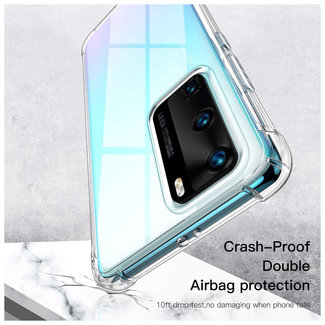 MSS Huawei P40 Transparant TPU Anti shock back cover hoesje