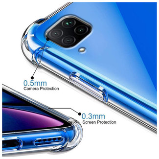 MSS Huawei P40 lite Transparant TPU Anti shock back cover hoesje