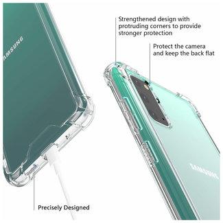 MSS Samsung Galaxy A41 Transparant TPU Anti shock back cover hoesje
