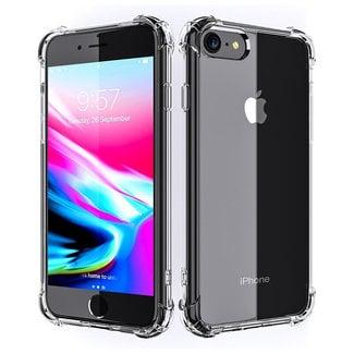 MSS Apple iPhone 7/8/SE (2020) Transparant TPU Anti shock back cover hoesje