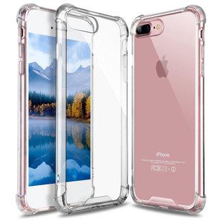 MSS Apple iPhone 7 Plus/ 8 Plus Transparant TPU Anti shock back cover hoesje