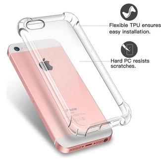 MSS Apple iPhone 5 / 5s / SE Transparent TPU Anti shock back cover case