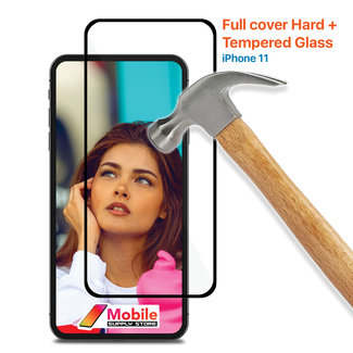 MSS Apple iPhone 11 Gehärtetes Glas Full Cover Hard +