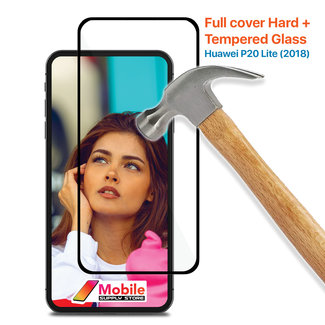 MSS Huawei P20 Lite (2018) Tempered Glass Full Cover Hard +