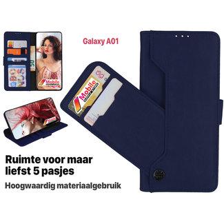 MSS Samsung Galaxy A01 High Class Book cover
