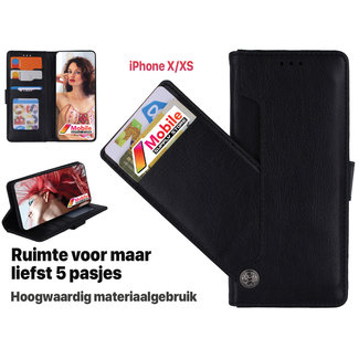 MSS Apple iPhone X / XS High Class Book cover