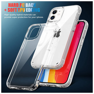 MSS iPhone 12 Mini Transparant TPU Transparant siliconen