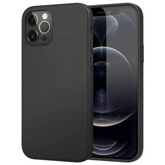 MSS iPhone 12 Black TPU Matt black Back cover