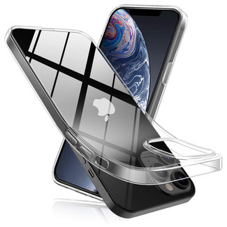 MSS iPhone 12 Transparant TPU Transparant siliconen