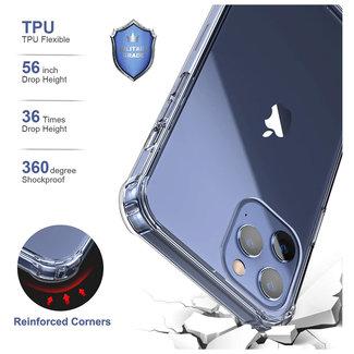 MSS iPhone 12 Pro Max Transparant TPU Anti Shock