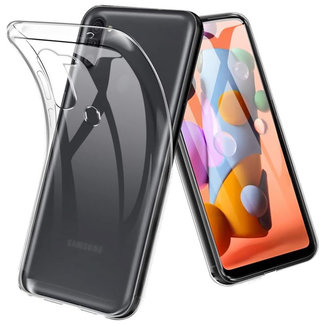 MSS Samsung Galaxy A11 Transparent TPU Silicone Back cover