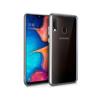 MSS Samsung Galaxy A20e Transparent TPU Silicone Back cover