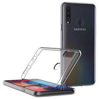 MSS Samsung Galaxy A20s Transparent TPU Silicone Back cover