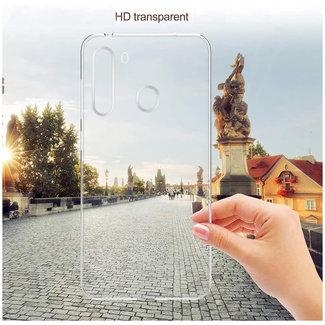 MSS Samsung Galaxy A21 Transparant TPU Siliconen Back cover