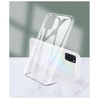 MSS Samsung Galaxy A21s Transparent TPU Silicone Back cover